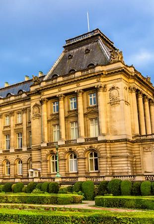 Belgian Royal Palace and Park